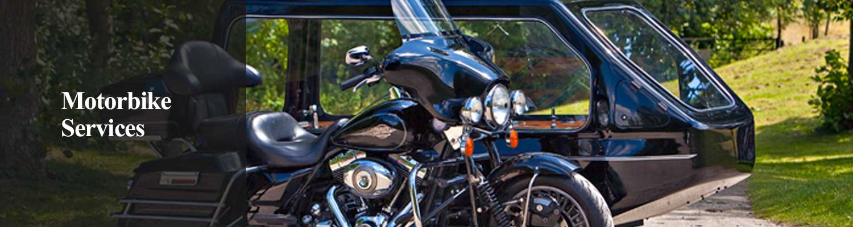 motorbike funeral